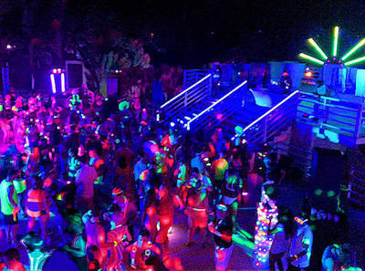 Glow Party Rave EDM Night