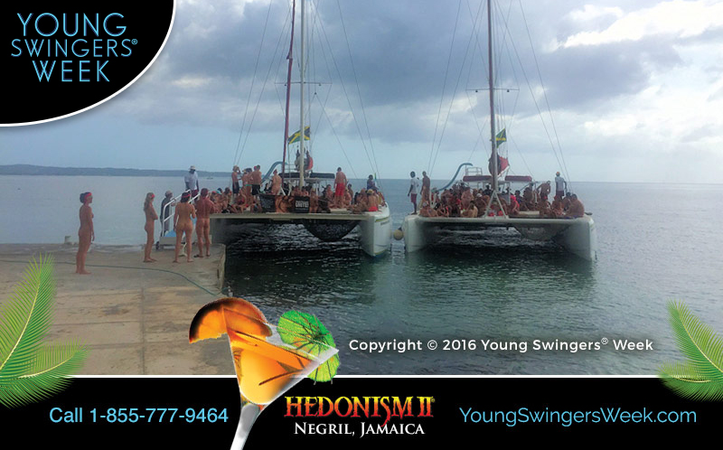 Young Swingers Week Catamaran Cruise to Rick's Cafe