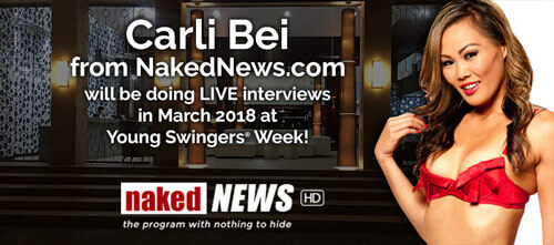 Carli Bei - Naked News