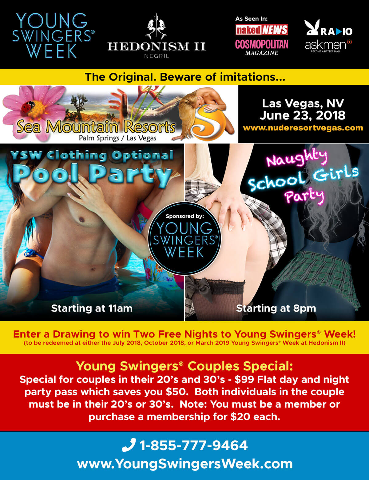 Las vegas swinger information